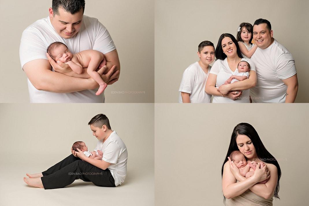 Snohomish newborn photographer family portraits