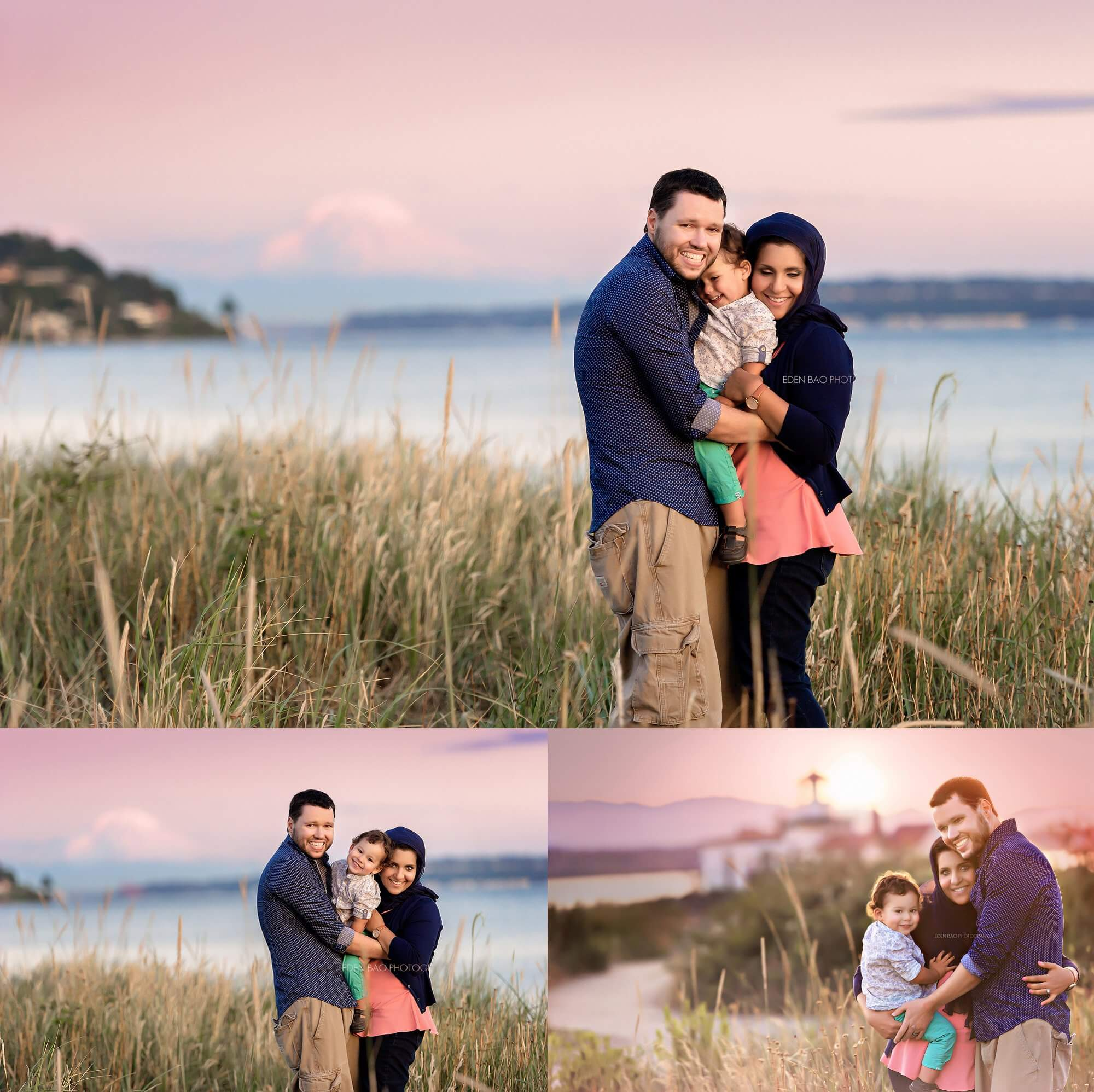 Seattle Family Photographers Discovery Park Beach