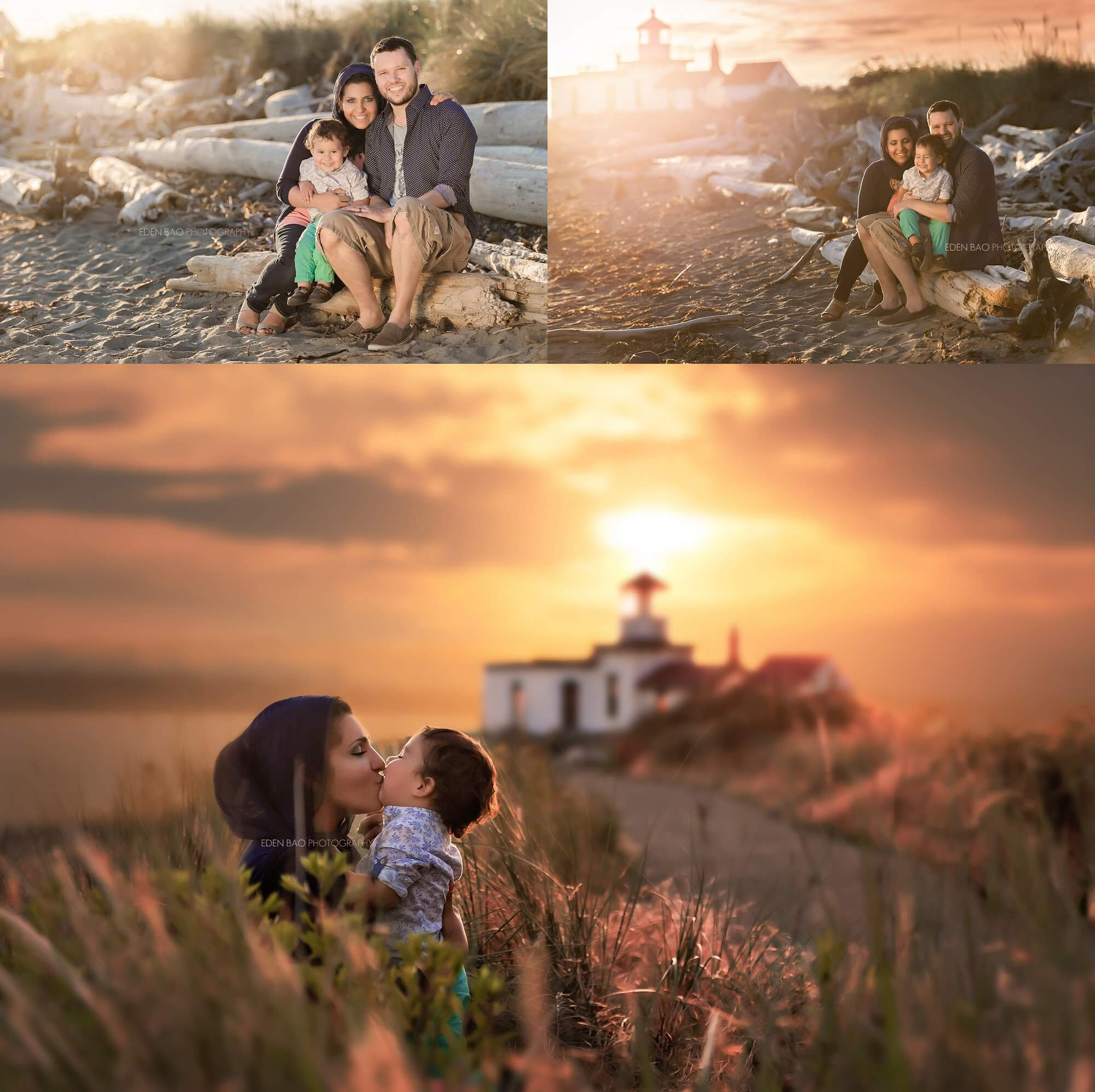 Seattle Family Photographers Discovery Park Lighthouse