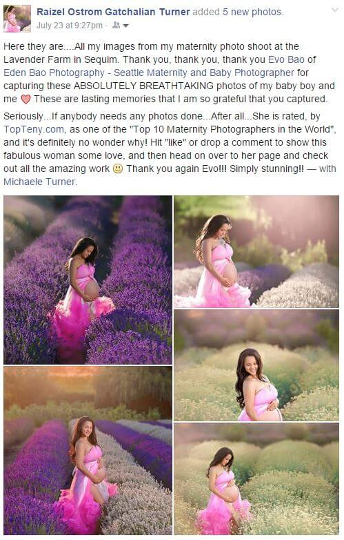 Eden Bao Photography Testimonials and Reviews from past clients 6