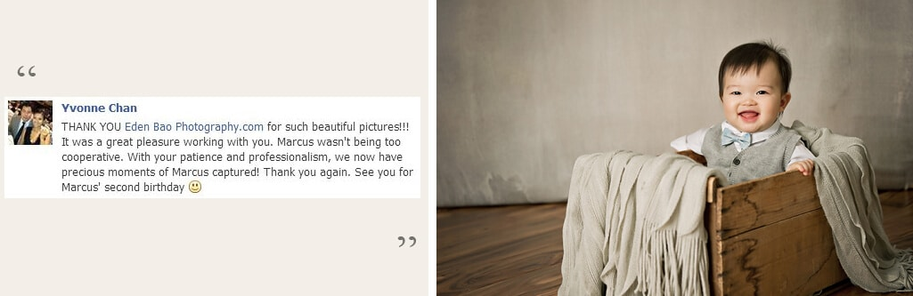 Eden Bao Photography Testimonials and Reviews from past clients 4