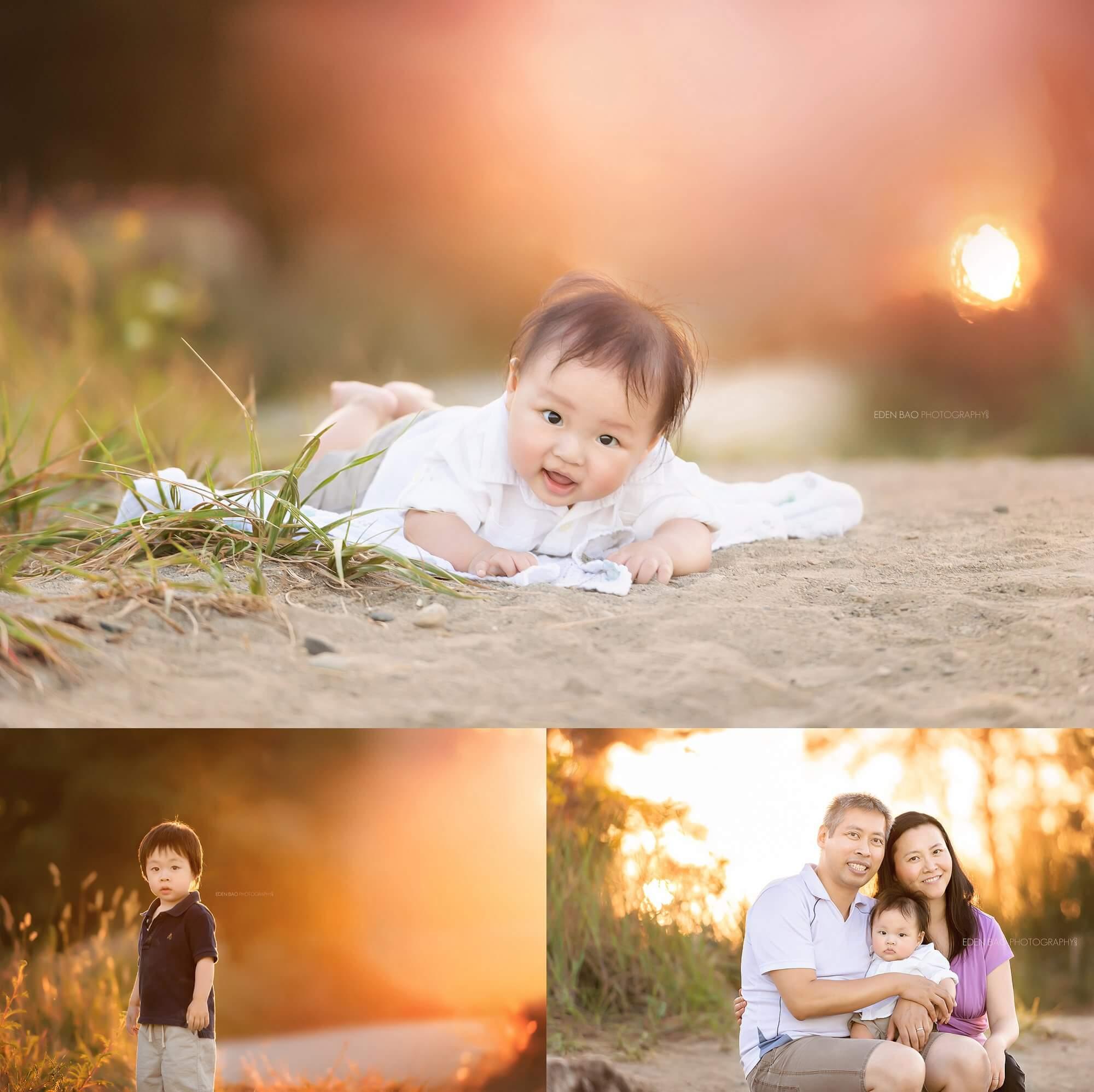 Vancouver Baby Photographer Jericho Beach Sunset