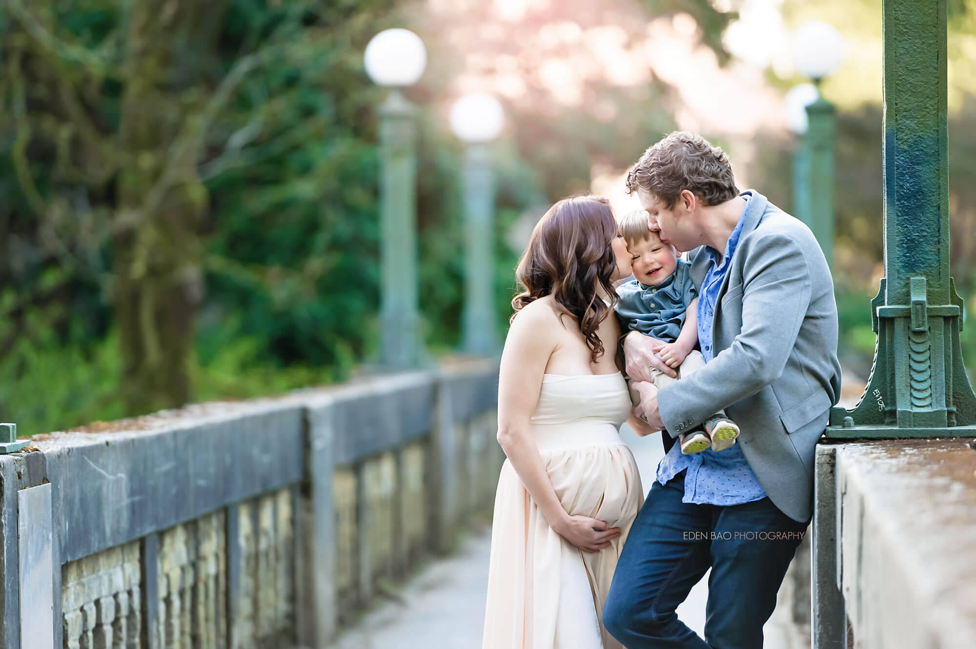 Washington Arboretum Maternity Photographer
