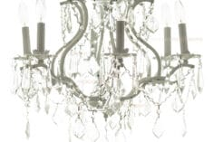 Backlit Crystal Chandelier Overlay