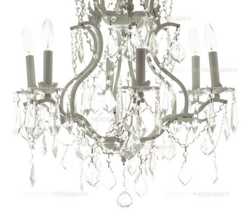 Backlit Crystal Chandelier Overlay