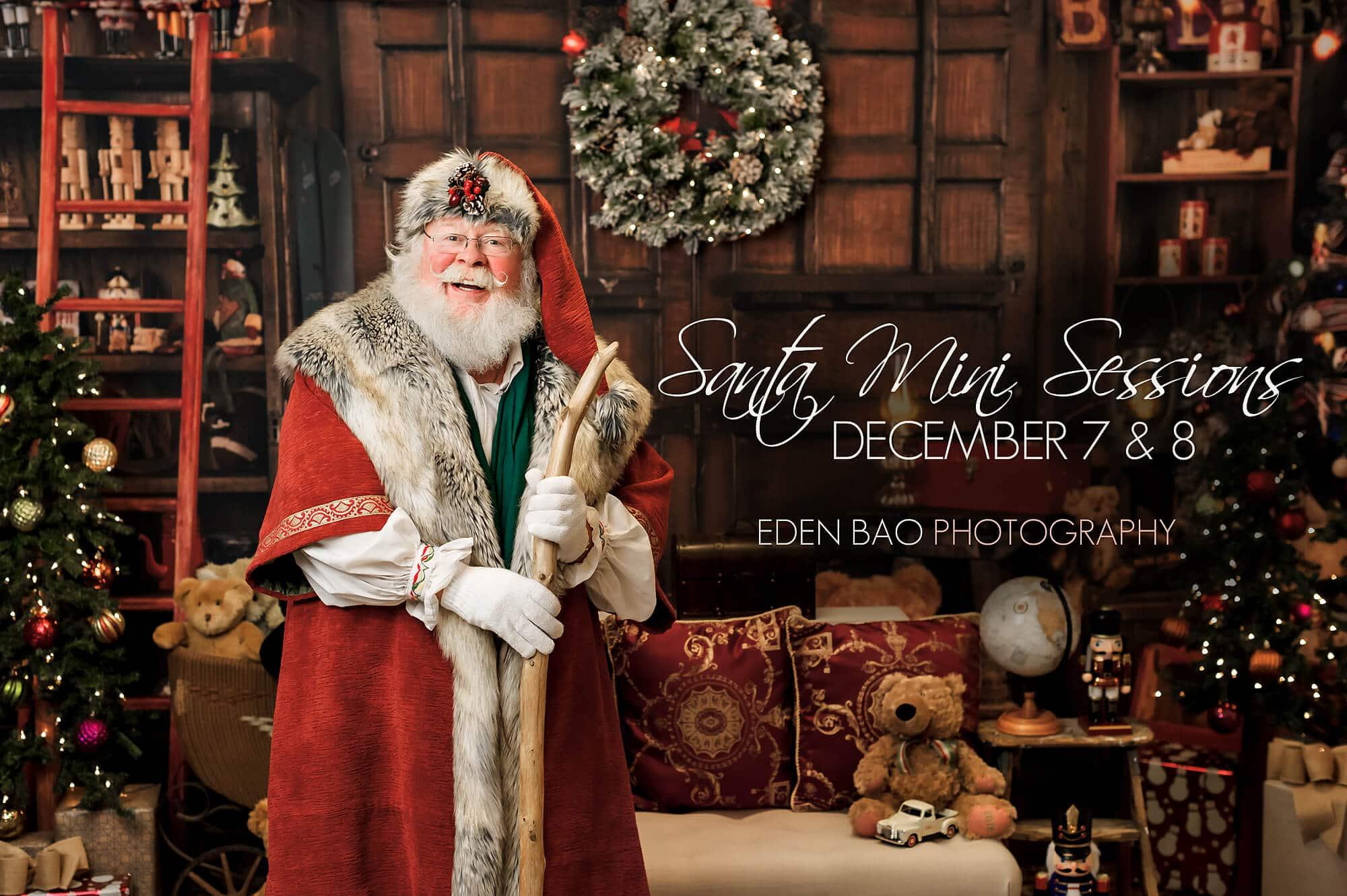 Santa photo mini session 2019 seattle photographer