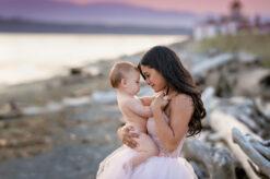 Beach Family Portrat Soft Pink Tulle Skirt Eden Bao 2