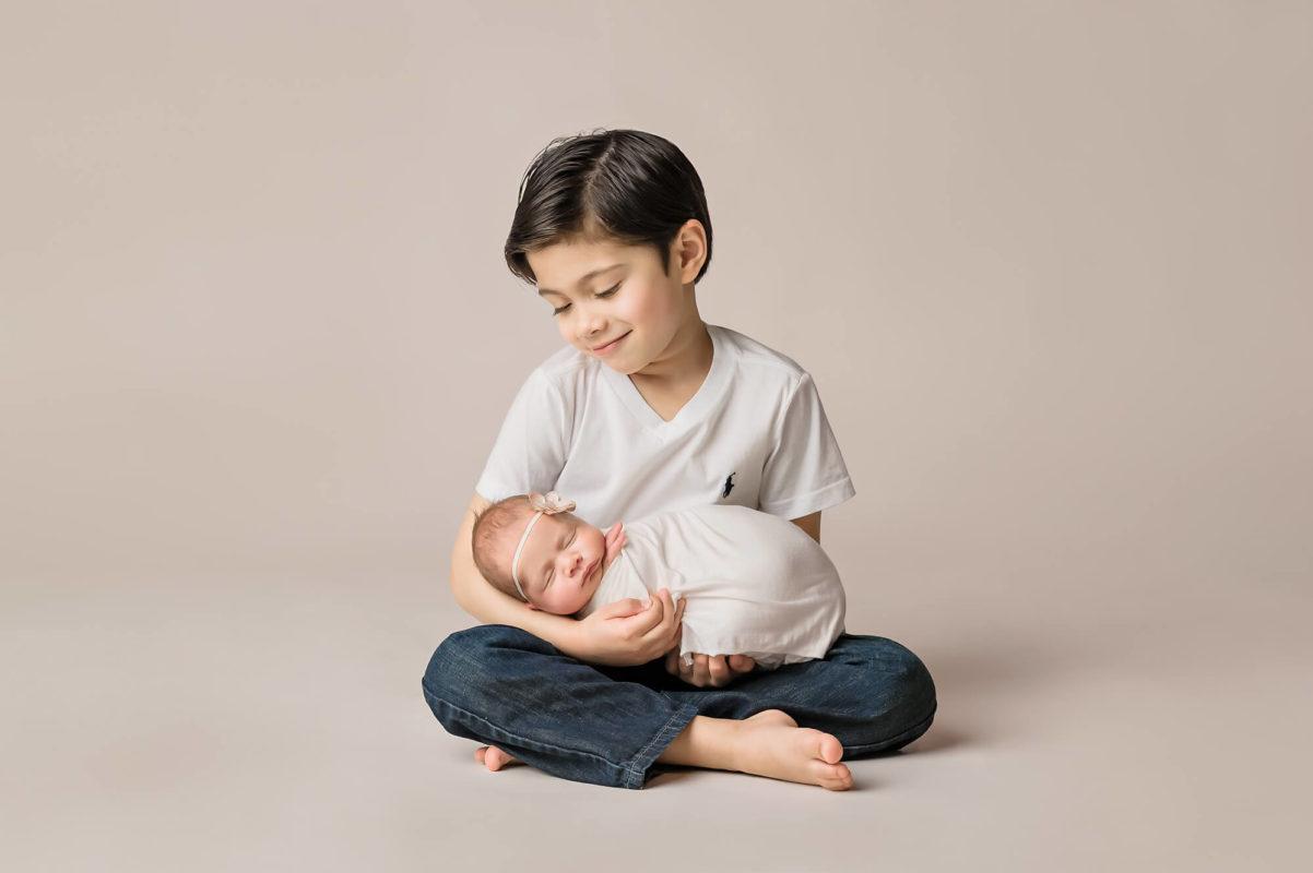 Big Brother Newborn Eden Bao