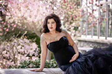 Celine Gown Black Eden Bao 3