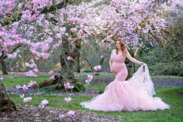 Cherry Blossom Maternity Eden Bao