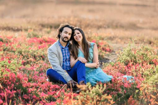 Autumn Mt Rainier National Park Couple Engagement Photo by Eden Bao