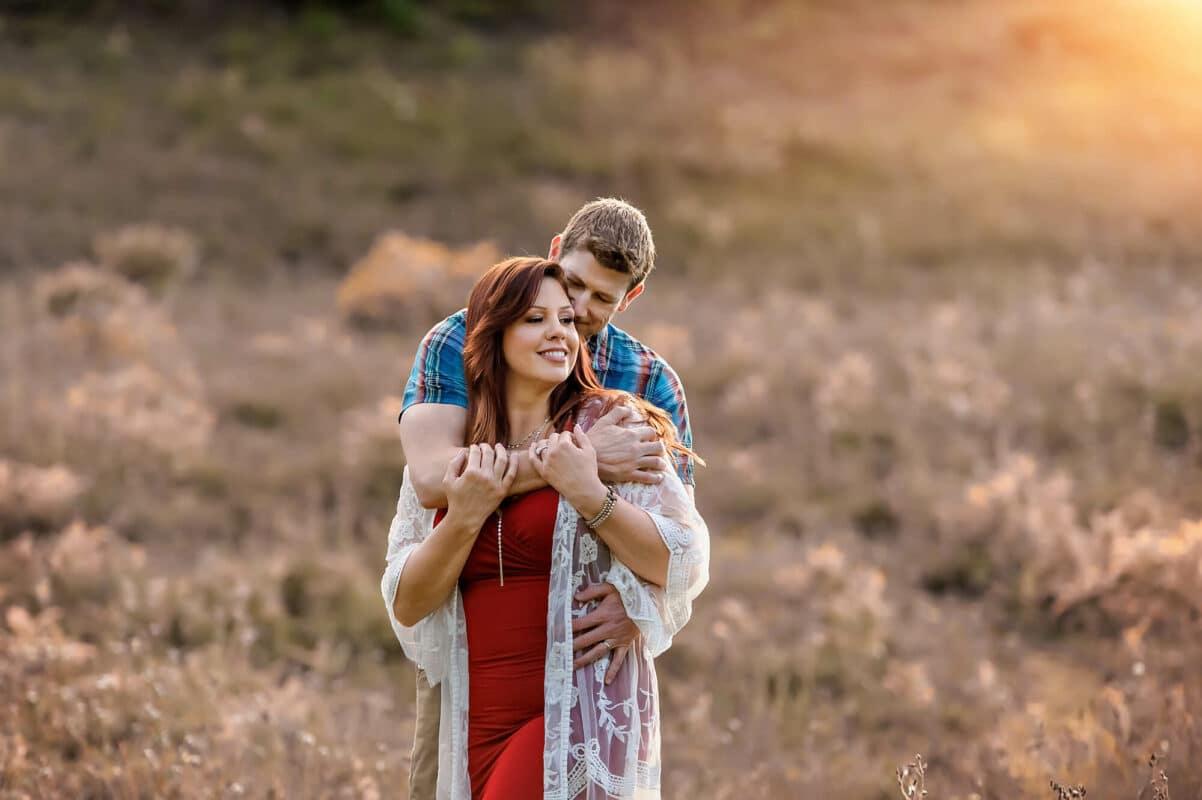 Couple Engagement Mt Rainier Summer Photo by Eden Bao