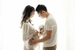 Dog Maternity Portraits Eden Bao