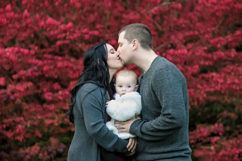 Fall family portrait Eden Bao