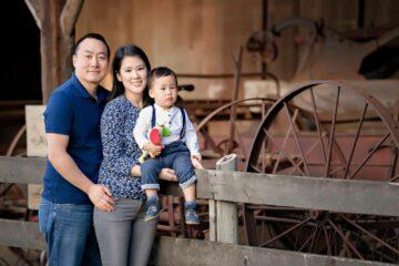 Family Red Barn - Eden Bao