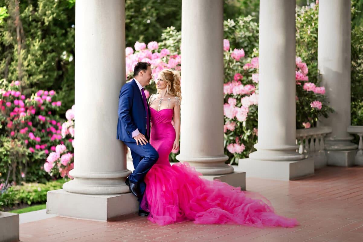 Formal Couple Portrait Eden Bao