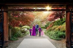 Garden Family Portraits Eden Bao