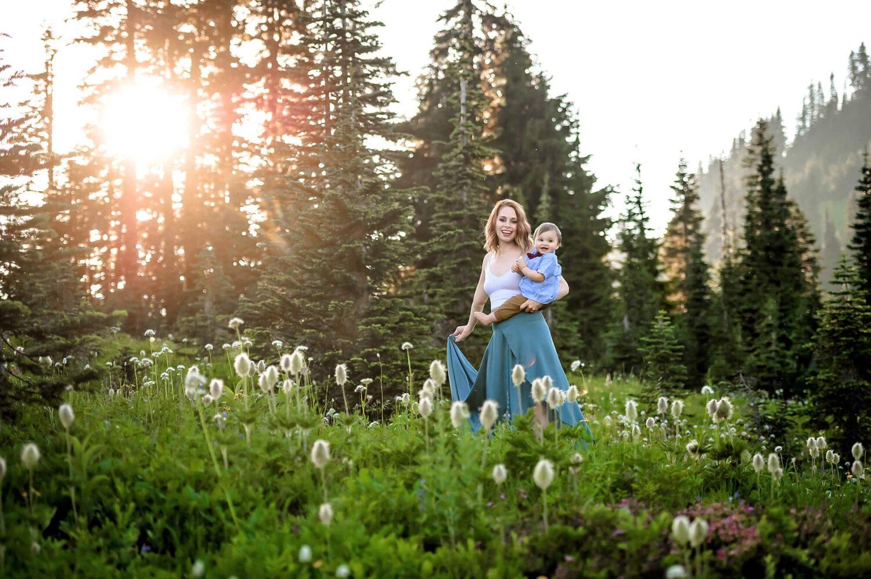 Mt Rainier Family Photographer