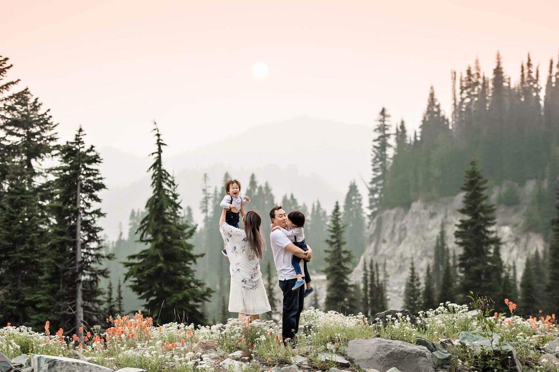 Mt Rainier Family Photos Eden Bao