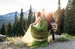 Mt Rainier Mountain Maternity Photo