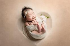 Newborn Heart Bowl Tan Eden Bao