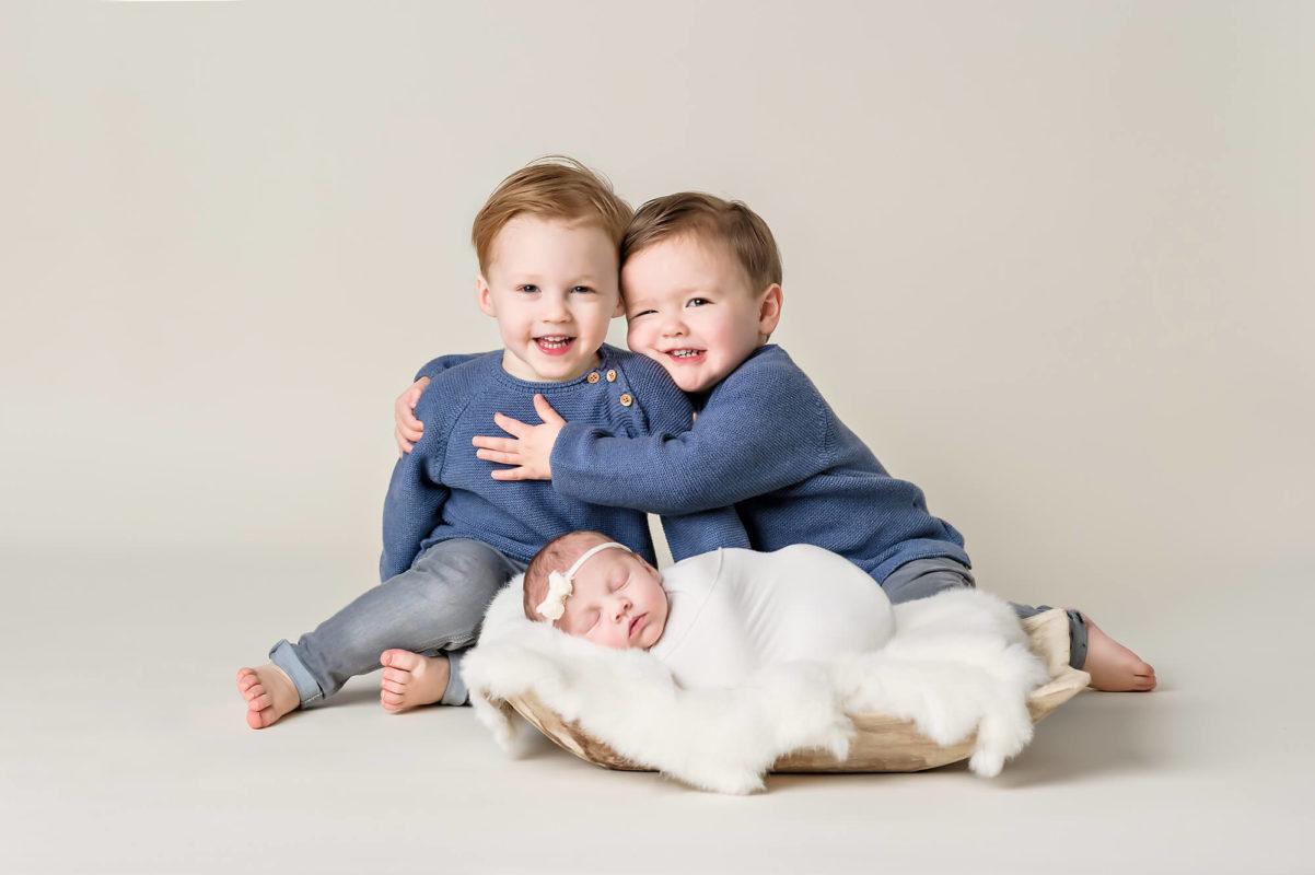 Newborn Sibling Shot Eden Bao