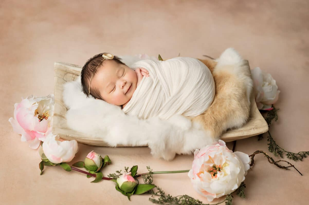 Newborn Tan Backdrop Eden Bao