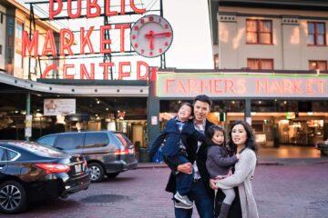 Pikes Market Place Family Portraits Eden Bao