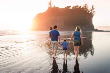 Ruby Beach Cannon Beach Family Portraits Eden Bao