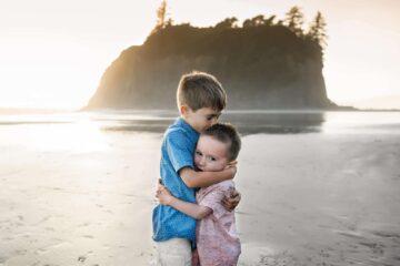 Ruby Beach Children Portrait by Eden Bao