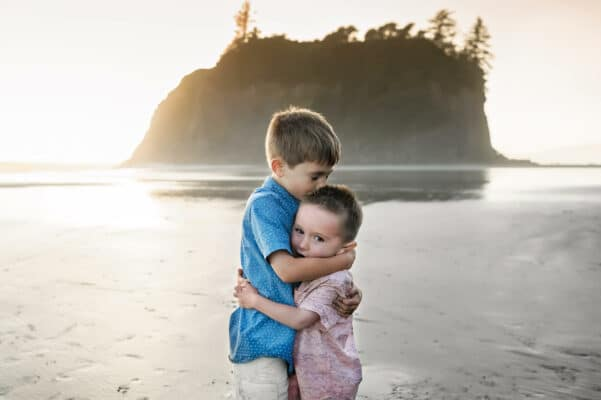 Ruby Beach Children Portrait by Eden Bao