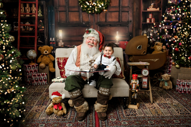Santa baby photo session Seattle Photographer