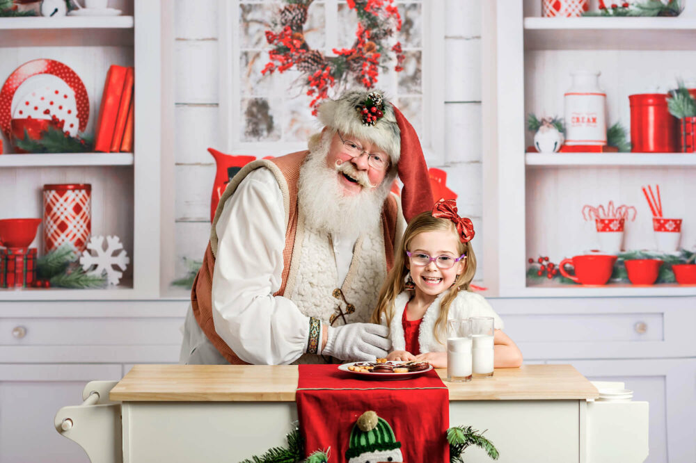Santa kitchen session Seattle Photographer