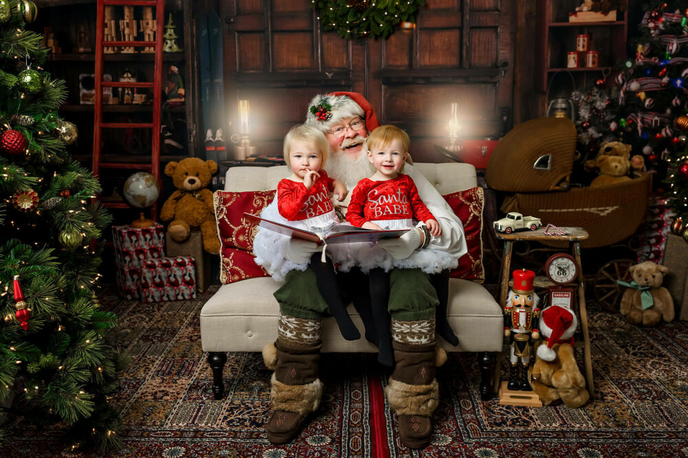 Santa mini photo session Seattle