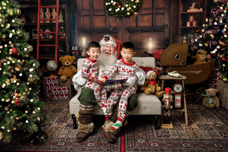 Santa mini session Seattle Photography