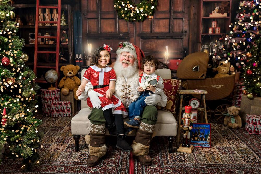Santa photo session Seattle