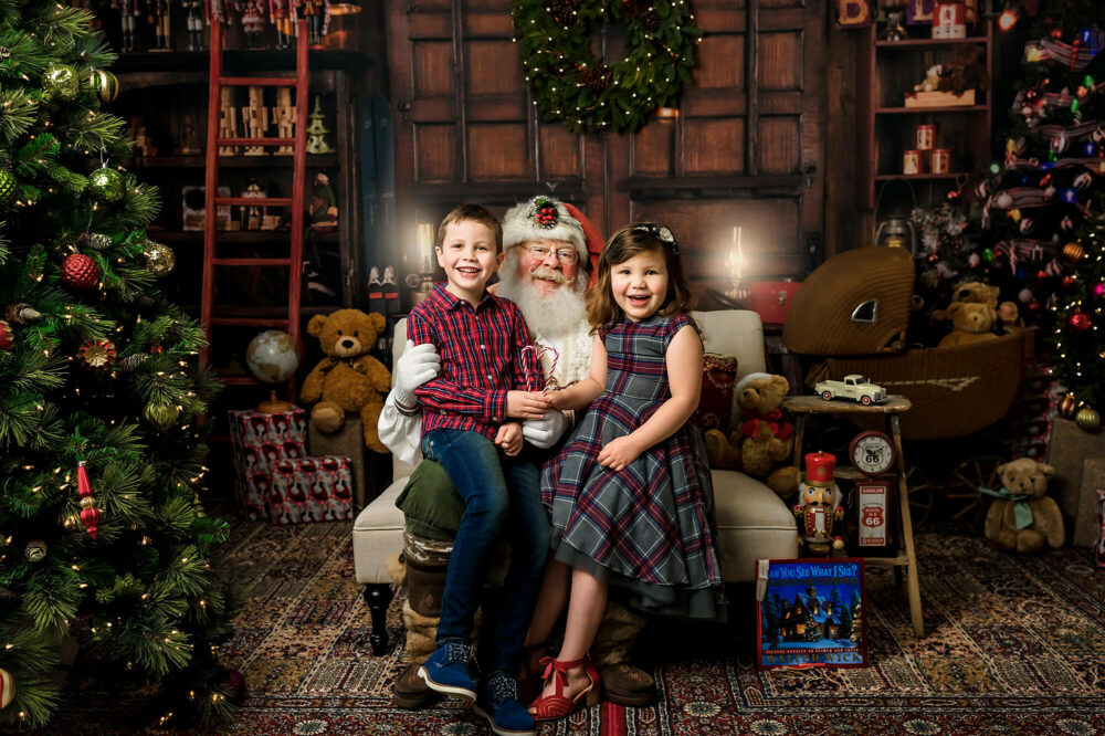 Santa photo session Seattle Family Photographer