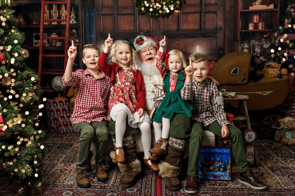 Santa photo session Seattle Photographer
