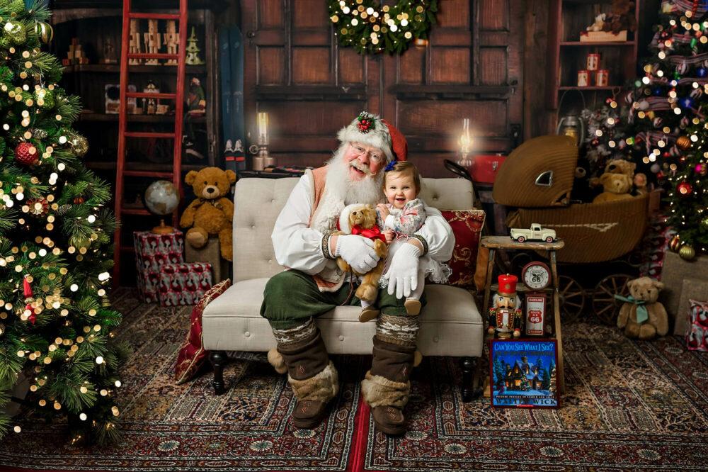 Santa photo session Seattle Photography