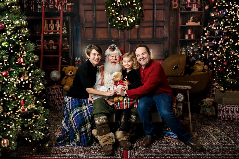 Santa session Seattle Family Photographer