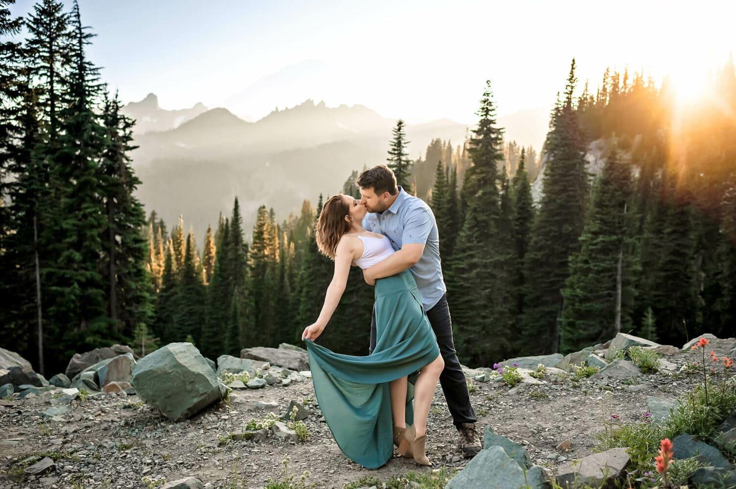 Seattle PNW Adventure Engagement Photographer