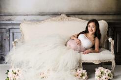 Studio Maternity Ivory Tutu Eden Bao