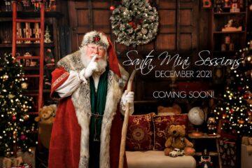 Victorian style Santa mini session Seattle Photographer