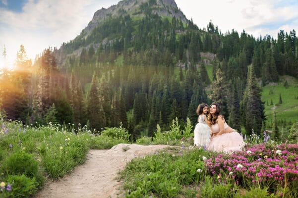 Mt Rainier National Park Maternity Photographer