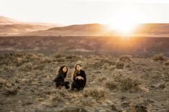 Desert Columbia River WA Family Photography