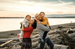 Discovery Park Beach Seattle Family Photographer