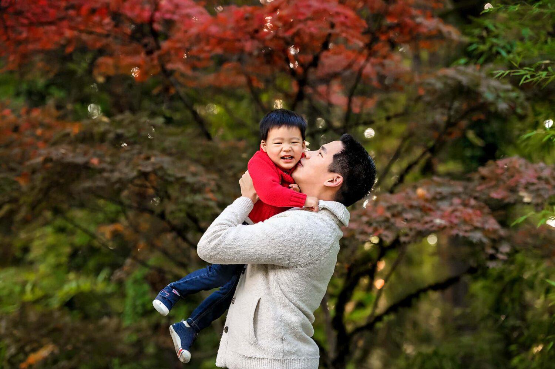 Kubota Japanese Garden Seattle Child Photographer