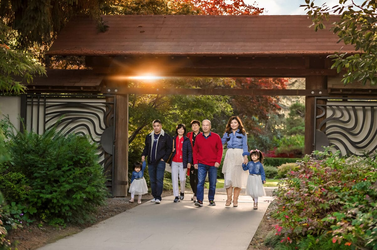 Kubota Japanese Garden Seattle Family Photographer