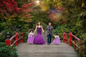 Kubota Japanese Garden Seattle Family Photography