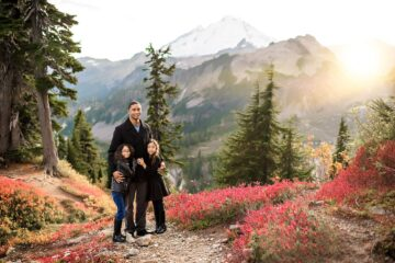 Mt Baker Mountain Adventure Family Photographer